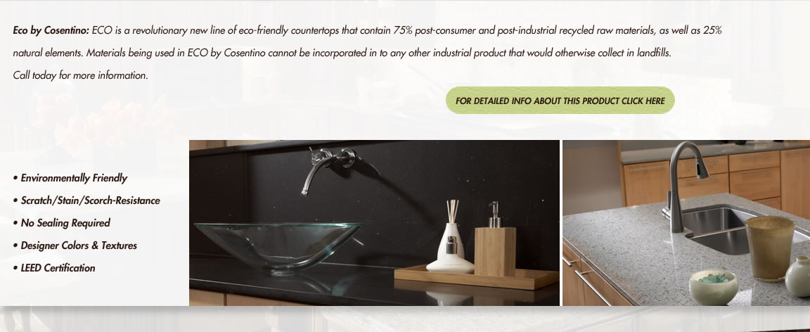 Eco-Friendly Cosentino Countertops Austin